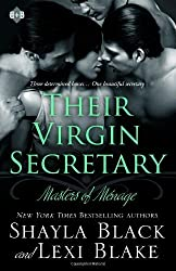 Their Virgin Secretary: Masters of Menage 6 by Black, Shayla, Blake, Lexi (2014) Paperback