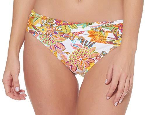 (Bleu Rod Beattie Women's Swimsuit Separates Let The Sunshine in Collection, Multi White Hipster Bikini Bottom,)