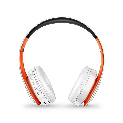 STRIR Bluetooth para auriculares estéreo V4.0 Música plegable Over-oreja sonido de alta fidelidad Calling construido en Mircophone manos libres, inalámbrico ...