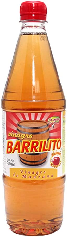 Barrilito, Barrilito Vinagre Manzana, 750 ml: Amazon.com.mx