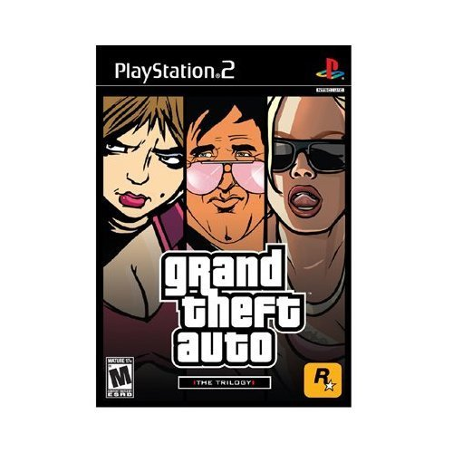 ps2 grand theft auto trilogy - 2