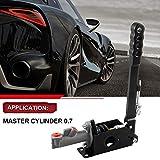Hydraulic Handbrake Master Cylinder 0.70, E Brake Racing Parking Emergency Brake Lever Handle Black