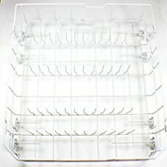 GE dishwasher lower Dishrack Hotpoint dishwasher lower Dishrack replaces part number WD28X10309 replaces part number WD28X10206 replaces part number WD28X10166 replaces part number WD28X10165 measures: 22 inch long x 20.5 inch wide x 6.5 inch...
