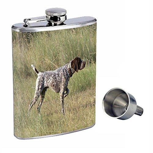 【超目玉枠】 犬German with Funnel Shorthaired Pointer Perfection inスタイル8オンスステンレススチールWhiskey Free Flask with Free Funnel B0166BBBWC, Seduce セデュース:a1b2cb05 --- domaska.lt