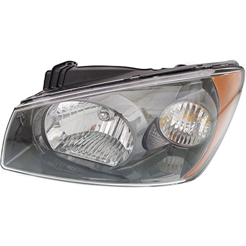 2027610 Headlight for SPECTRA 04-06 Assembly Halogen Hatchback/Sedan 2nd Generation With Bulb(s) Driver Side ()