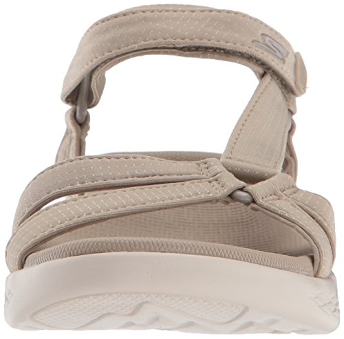 Sport Sandals ON Natural Women's The 600 Go Brilliancy Skechers wTBWOq1x