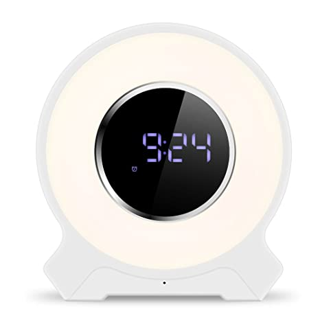 Amazon.com: Decdeal - Reloj despertador recargable con radio ...
