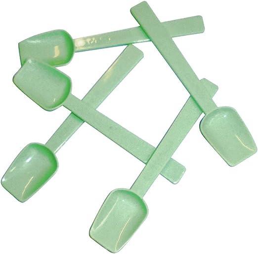 500 paletas de PLA para helado de 9,5 cm de color verde con ...