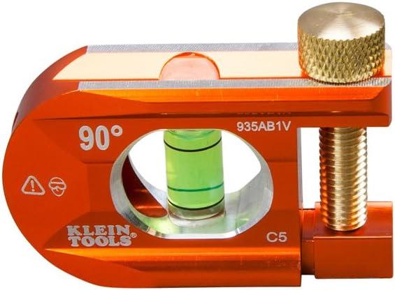 Offset Conduit Bending Level, 1 Vial, ACCU-BEND Precise 90-Degree Bends Klein Tools 935AB1V