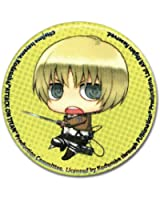 Great Eastern Entertainment Attack On Titan SD Armin Button, 1.25""