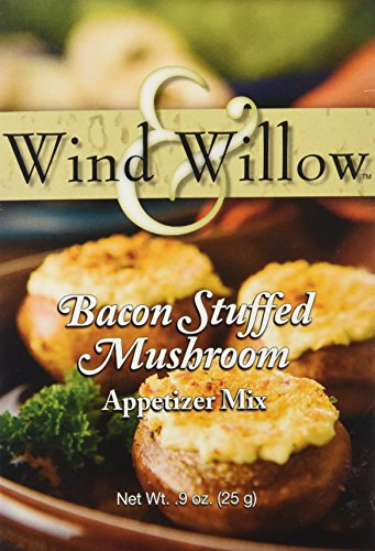 Wind & Willow Bacon Stuffed Mushroom Cheeseball & Appetizer Mix (Stuffed Mushroom)