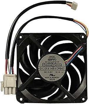 WR60X10358 GE Fan Condenser Dc Genuine OEM WR60X10358
