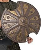 Smiffys Warrior Shield, Brown, Round, 19inches, One Size, Achilles Shield, 23992