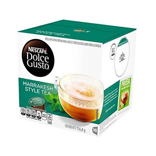 NESCAFÉ Dolce Gusto MARRAKESH STYLE TEA (16 cápsulas/16 Tazas)