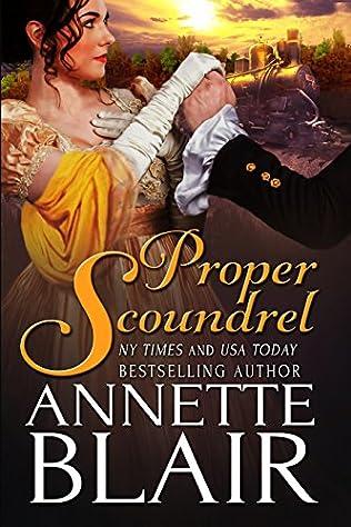 book cover of Proper Scoundrel