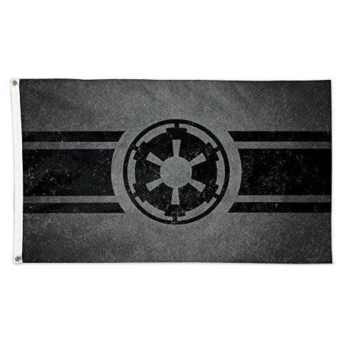 Star War Imperial Crest Dark Side Logo 3 x 5 Foot Flag Disne