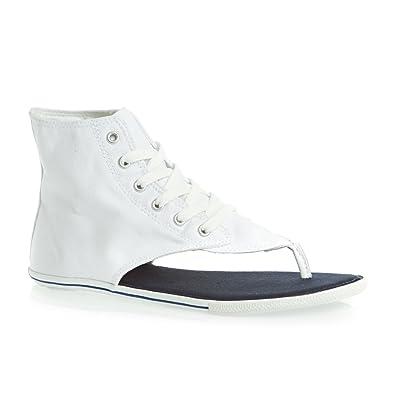 Converse Chuck Taylor As Thong Sandals - White