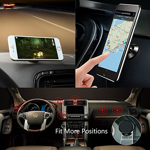 Magnetic-Phone-Car-Mount-Holder-Universal-Dashboard-Car-Phone-Holder-for-iPhoneX-8Plus7-Plus66S-Samsung-Galaxy-S8S7S6-Note-567-Google-PixelLG-and-GPS-Black