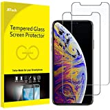 JETech Screen Protector Compatible with iPhone Xs Max 6.5-Inch, Tempered Glass Film, 2-Pack