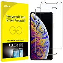 JETech Screen Protector for Apple iPhone Xs Max 6.5-Inch, Tempered Glass Film,2-Pack