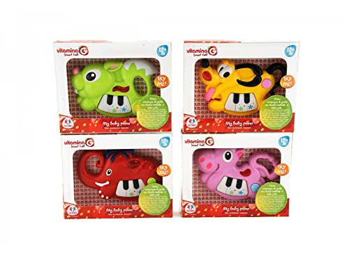 Globo Toys Globo - 5146 Vitamina_G 4 Assorted Try-Me Animal Musical Toy with Light and Sound