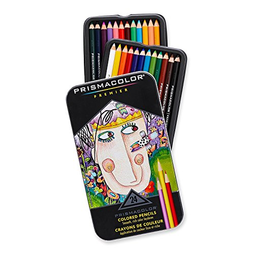 Colored Pencils Prismacolor Premier Soft Core 24-Count 24