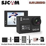 SJCAM SJ6 Legend Sports Action Camera Remote Action Helmet Sports DV Camera Waterproof 4K 1080P 24FPS Action Camera Camcorder (Rose Gold)