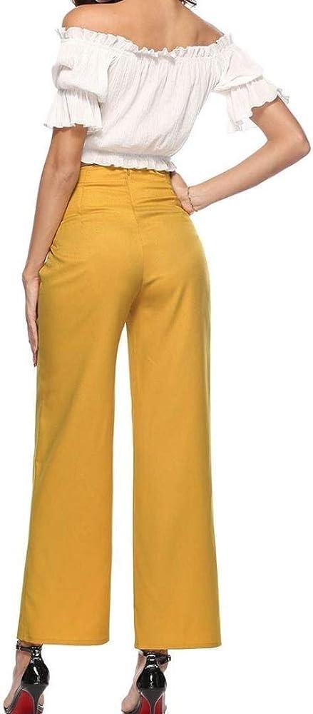 HX fashion Pantalones De Mujer Pantalón De Chándal Pantalones De ...