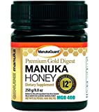 Manukaguard Premium Gold Digest Manuka Honey 12+ MGO 400, 8.8 Ounce
