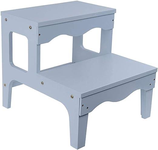 Taburete de escalón para niños | Escalera para cama alta para adultos de madera | Escaleras