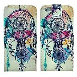 ZMY Flip-Open Dream Catcher Pattern PU Leather Full Body Cover with Card Slot Case for iPhone 6