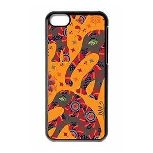 Animal Prints ZLB574058 Custom Case for Iphone 5C, Iphone 5C Case