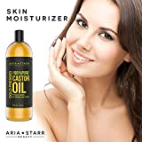 Aria Starr Castor Oil Cold Pressed - 16 FL OZ -...