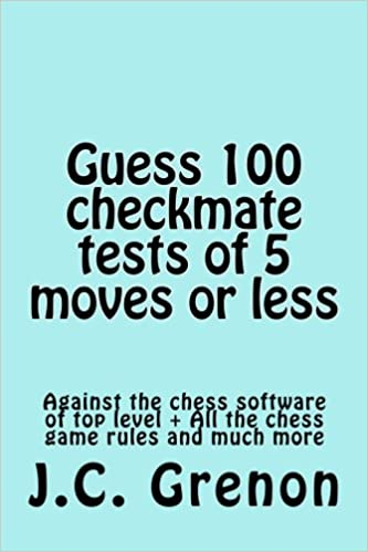 Astounding Guess 100 Tests Of Checkmate Of 5 Moves Or Less J C Grenon Wiring Cloud Ratagdienstapotheekhoekschewaardnl