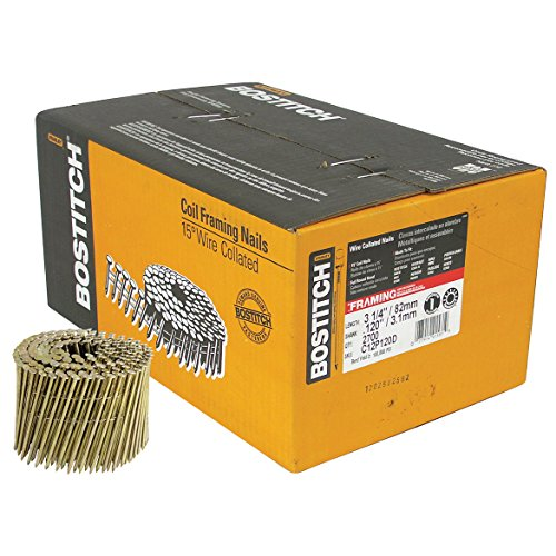 Stanley Bostitch C12P120D 3-1/4-Inch Coil Nail, 2700-Pack