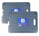 Cooler Shock 2Pk Lg 18-Degree F. Hard Packs -No Ice Required -Tough Innovative Pack Designed with a Ribbed Surface Area...