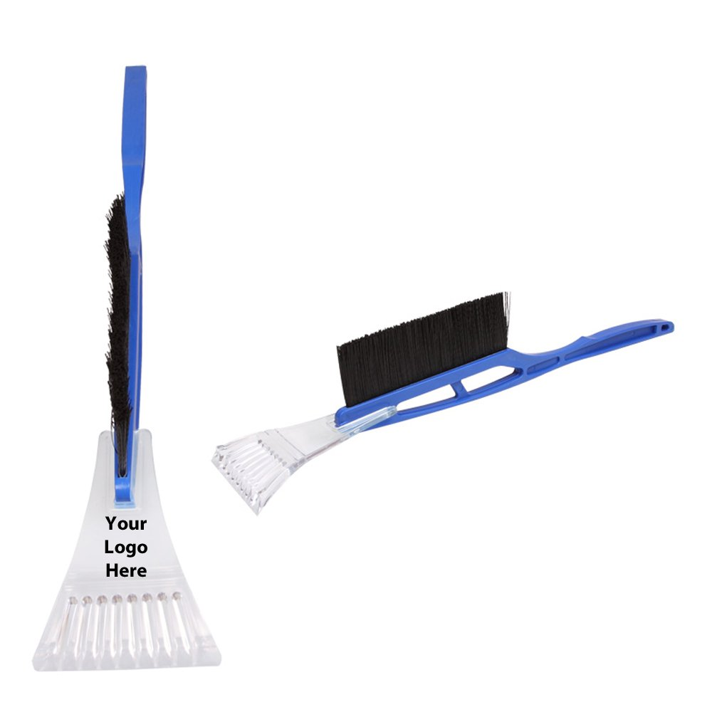 Long Handle Ice Scraper - 100 Quantity - $4.00 Each - PROMOTIONAL PRODUCT / BULK / BRANDED with YOUR LOGO / CUSTOMIZED