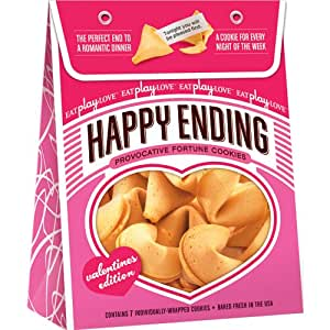 Icon brands happy ending fortune cookie - valentines edition
