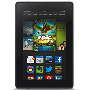 "Kindle Fire HD 7"", HD Display, Wi-Fi, 8 GB - Includes Special Offers by Amazon"