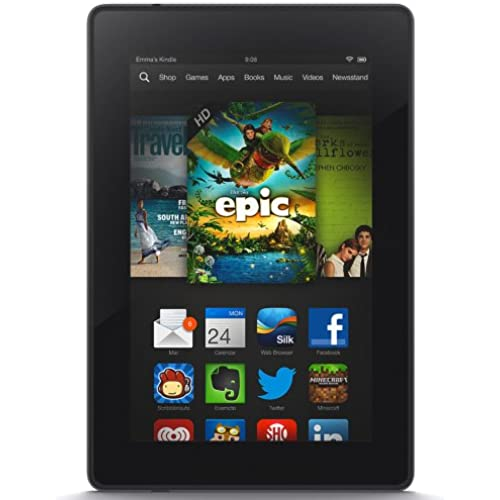 Kindle Fire HD 7, HD Display, Wi-Fi, 8 GB - Includes Special Offers (Previous Generation - 3rd) Coupons
