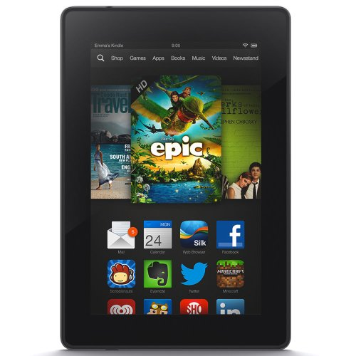 Kindle Fire HD 7'', HD Display, Wi-Fi, 8 GB - Includes Special Offers (Previous Generation - 3rd) by Amazon