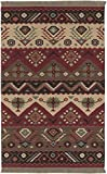 Surya Jewel Tone Area Rug JT-8 Red Southwestern Lodge 3' 6'' x 5' 6'' Rectangle