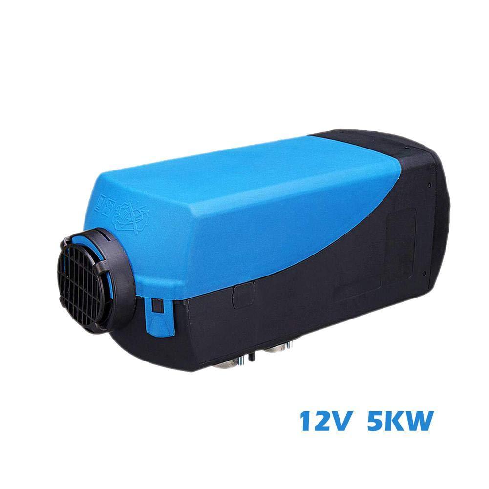 5KW 12 V / 24 V Calentador de estacionamiento de automó viles a diesel Calentador de automó viles + Monitor LCD + Silenciador + Control remoto de la caravana Control del remolque Oshide