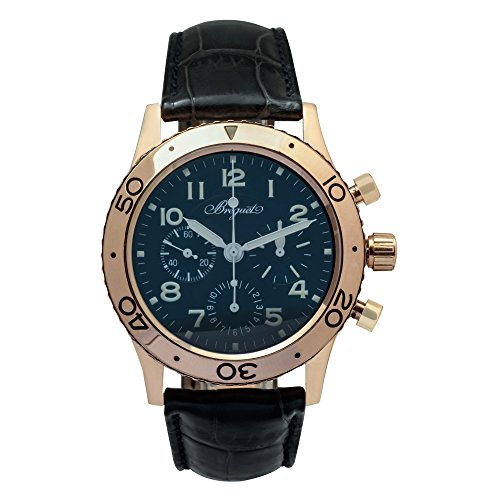 Breguet Type XX / Type XXI automatic-self-wind mens Watch 3800 (Certified Pre-owned)