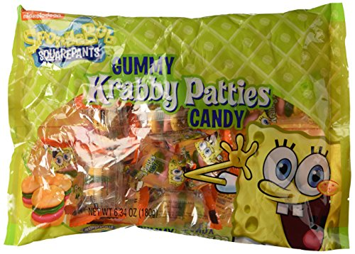 Gummy Krabby Patty (Bulk Spongebob Gummy Candy Krabby Patties, Bag of)