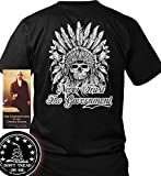 Bundle of 3 items. Never Trust the Government. Black 4XL T-Shirt. Made in USA