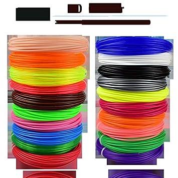 W-Shufang,3D Filamento de la Impresora de PLA/ABS/PETG 3D 1.75MM ...