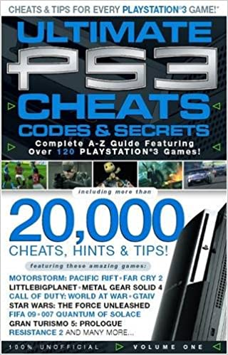 Amazon com: Ultimate PS3 Cheats and Guides - Includes Bonus