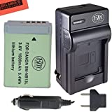 BM Premium NB-13L Battery and Battery Charger for Canon PowerShot G1 X Mark III, G5 X, G7 X, G7 X Mark II, G9 X, G9 X Mark II, SX620 HS, SX720 HS Digital Camera
