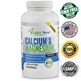Best Calcium & Magnesium + Vitamin D3 400 IU – Highly Absorbable with Boron – 10 Forms of Calcium + Phosphorus for Bone Strength – All Natural – 240 Capsules – 2 Month Supply! Review